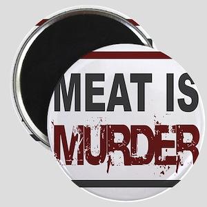 Meat Is Murder squarer-2 Magnet