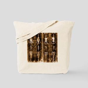 Shroud of Turin - Full Length Negative Se Tote Bag