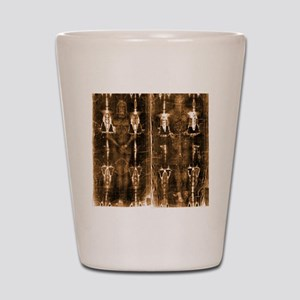 Shroud of Turin - Full Length Negative  Shot Glass