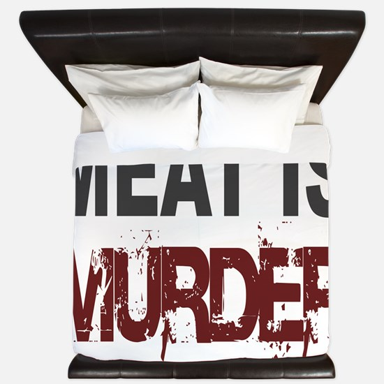 Meat Is Murder-big King Duvet