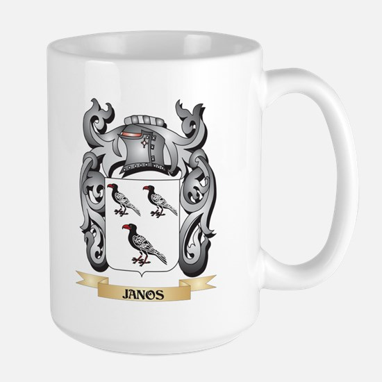 Janos Coat of Arms - Family Crest Mugs