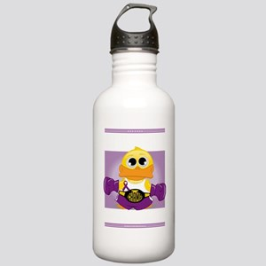 Knock-Out-Epilepsy-blk Stainless Water Bottle 1.0L