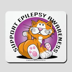 Epilepsy-Cat Mousepad