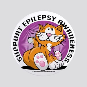 "Epilepsy-Cat 3.5"" Button"