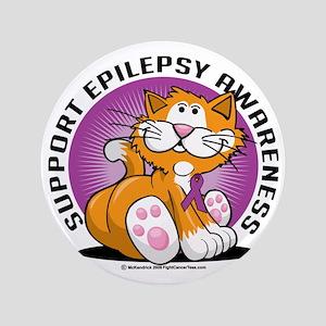 "Epilepsy-Cat 3.5"" Button"