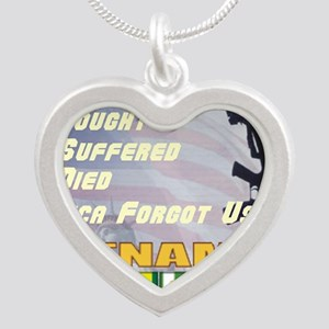 unsupported vet Silver Heart Necklace
