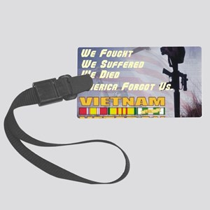 unsupported vet Large Luggage Tag