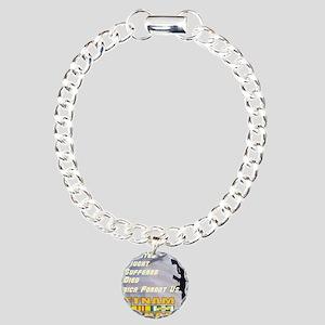 unsupported vet Charm Bracelet, One Charm