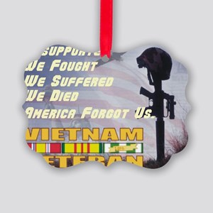 unsupported vet Picture Ornament