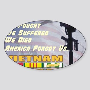 unsupported vet Sticker (Oval)