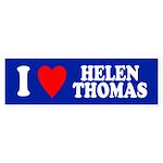 I HEART HELEN THOMAS Bumper Sticker