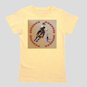 Barrel Horse-Circle Girl's Tee