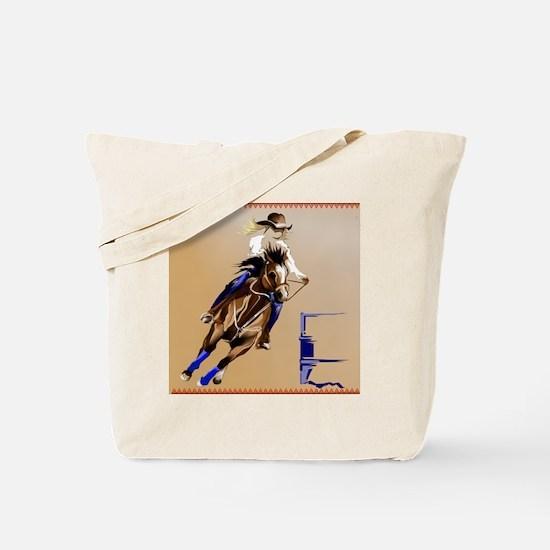 Barrel Horse_pillow Tote Bag