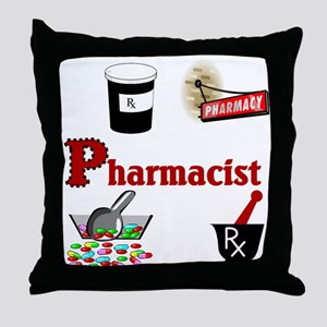 Pharmacist Throw Pillow
