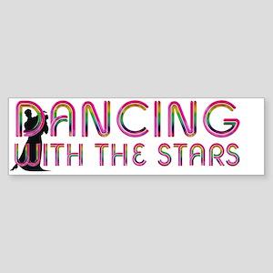 dancingwstarscap Sticker (Bumper)