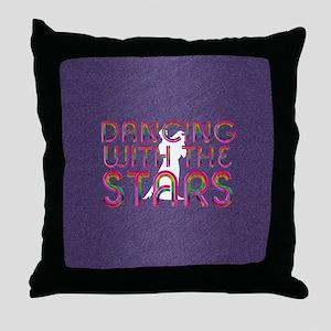dancingwstarssq Throw Pillow