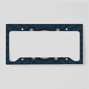 dod-gold-OV License Plate Holder