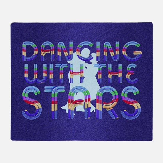 dancingwstarsb1 Throw Blanket