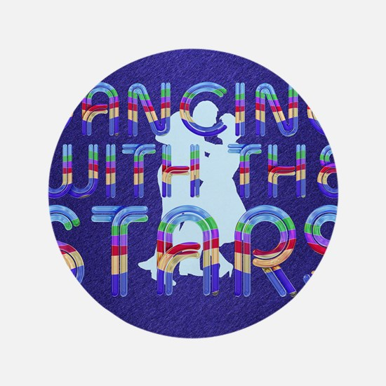 """dancingwstarsb1 3.5"""" Button"""