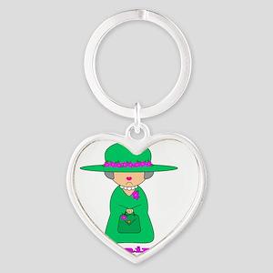 motherinlaw Heart Keychain