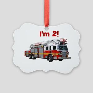 firetruck_im2 Picture Ornament
