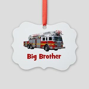 firetruck_bigbrother Picture Ornament