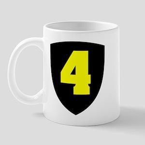 Number 4 Mug