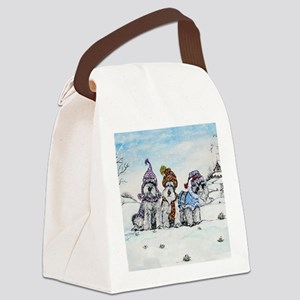 NEW sig Canvas Lunch Bag