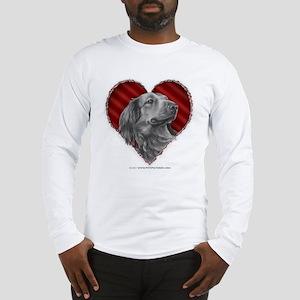 Dachshund Valentine Long Sleeve T-Shirt