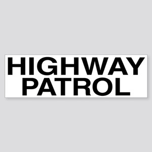 Highway Patrol Bumper Sticker