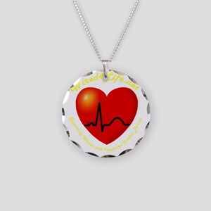Wired4Life-3aTrans Necklace Circle Charm
