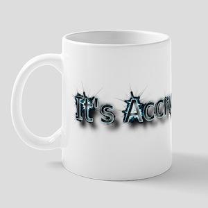 Its Accrual WorldLarge Mug