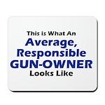 Gun-Owner Mousepad