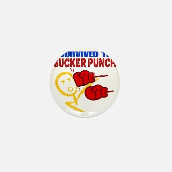 SuckerPunch Mini Button