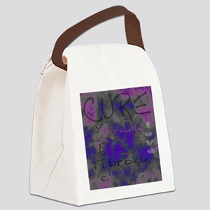 cure-cystic-fibrosis Canvas Lunch Bag