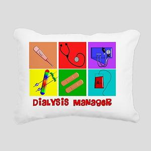 Dialysis Manager Rectangular Canvas Pillow