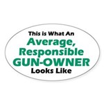 Gun-Owner Oval Sticker