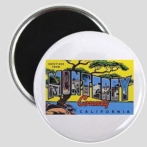 Monterey County California Magnet