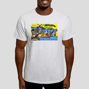 Monterey County California (Front) Ash Grey T-Shir