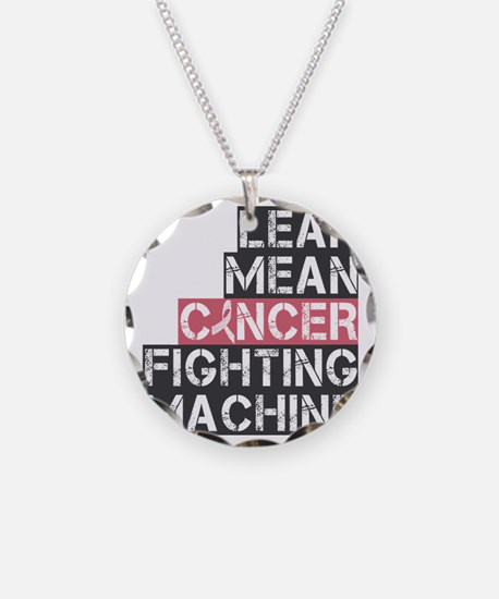 lean mean cancer fighting ma Necklace