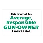 Gun-Owner Postcards (Package of 8)