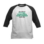 Gun-Owner Kids Baseball Jersey