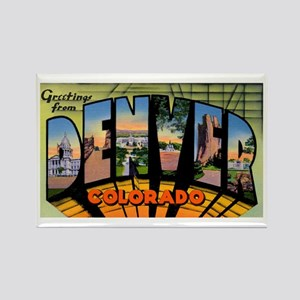 Denver Colorado Greetings Rectangle Magnet