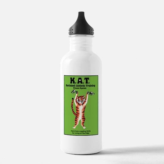 white_t_shirt_art_back Water Bottle