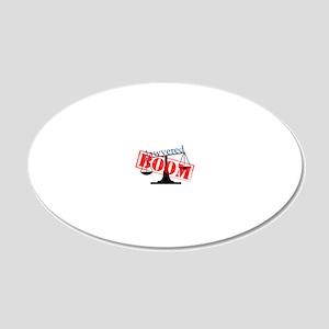 boom-big-light 20x12 Oval Wall Decal