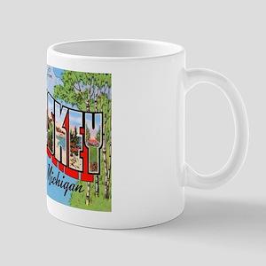Petoskey Michigan Greetings Mug