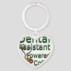 coffee dental assistnat Heart Keychain