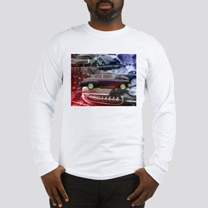 Lake Scott Rod Run 51 Chevy  Long Sleeve T-Shirt