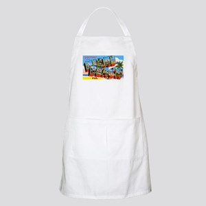 Miami Beach Florida Greetings BBQ Apron