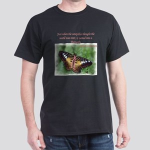 Butterfly BC Ribbon B Dark T-Shirt